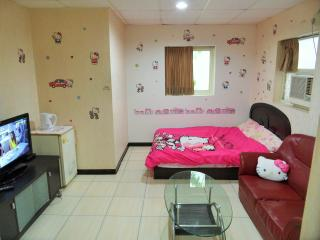 Hello Kitty Room @ XiMenDing 西門町 3min to MRT, Taipéi