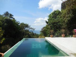 SUPER OCEAN VIEW VILLA/INFINITY POOL/SLEEPS 5/WI-F, Ko Phangan