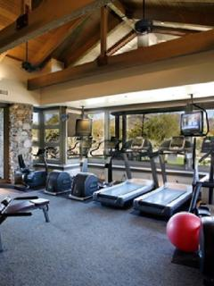 Two fully equipped fitness centers with our PRIVATE membership. two-min. walk from your door.