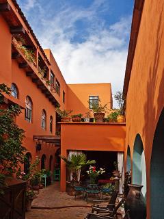 Inner exterior of hotelitp