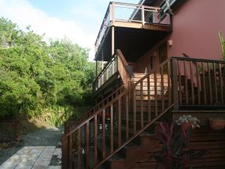 New deck and stairs
