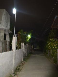 Well lit Alley