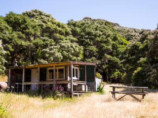 Kawakawa Farmstay 'Black Hut', Featherston