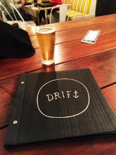 Craft beers on tap at the Drift Bar, only 1 5 minute walk from the complex.
