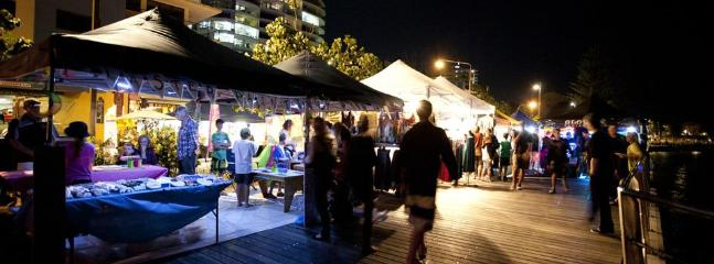 Twilight markets on every Friday night in summer