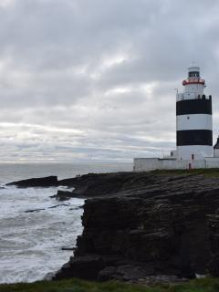 old twinkly Hook Lighthouse oldest working lighthouse n Europe - The view from the top is amazing!