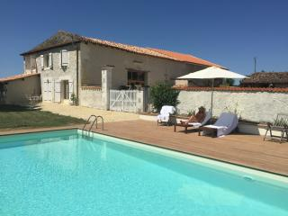 Gorgeous newly renovated barn in sunflower fields, Chalais