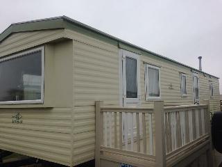 North Shore holiday centre , double glazed family caravan