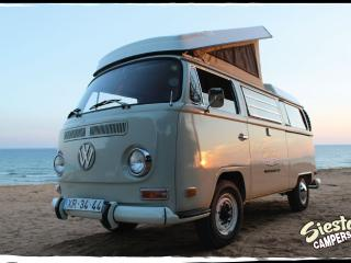 Stunning Classic VW T2 Camper , on the beach Portugal
