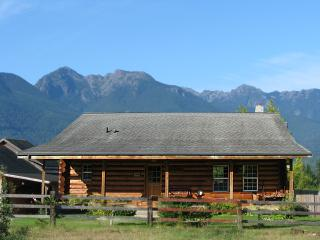 Log Cabin-Olympic Peninsula, Olympic Mt. Views