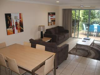 Tucked away, Quiet 2 bedroom Apartment #3 with buggy and transfers.