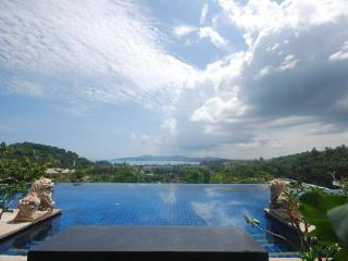 SUR275 Luxury Four Bedroom Sea View Villa Overy Looking At Bang Tao Bay, Surin