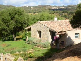 A typical Sardinian Stazzu cottage in Gallura