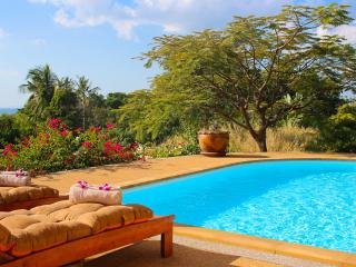 comfortable poolside with seaview