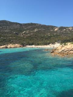 Cristal waters of the Gallura coasts