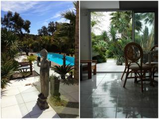 Studio Heaven 2. exotic garden&large pool, Grimaud
