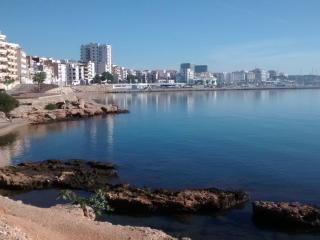 Apartamento en l'Ampolla con vistas al mar