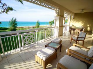 Exclusive Ocean View True Beachfront Condo, Grace Bay