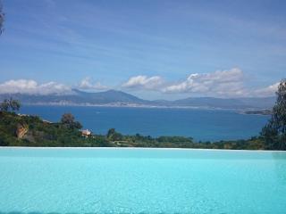 Villa panor. Golfe d'Ajaccio - Piscine - 8 pers, Pietrosella