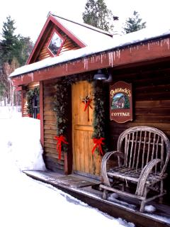 Stowe Cabin Rental Entrance