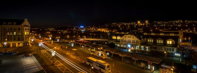 City view (night)