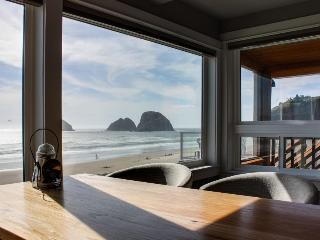 Stunning and redesigned oceanfront condo - dog-friendly, too!, Oceanside