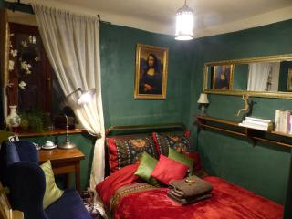 Green Room at Decadent Art Club, Cesky Krumlov