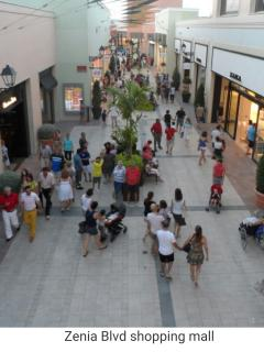 La Zenia Boulevard Shopping Centre Close by