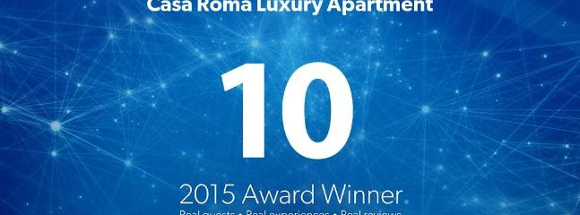 Casa Roma Luxury Apartment is the winner 2015