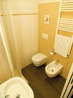 a shared bathroom