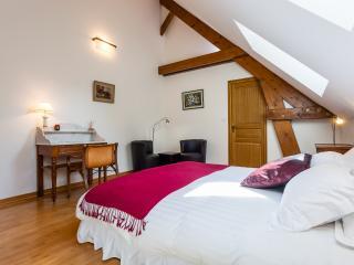 Chambre Double - Salle de bain privée - Lit Queensize, Saint-Ouen-sur-Morin