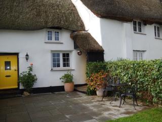Thatched Devon Cottage in Historic Village Setting