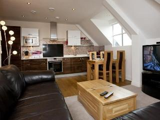 Large open-plan living area provides plenty of room to cook, eat and relax
