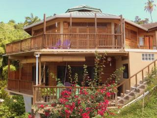 Oceanview 1 or 2 bedrooms.  Castara Roundhouse, Tobago. Paradise awaits you
