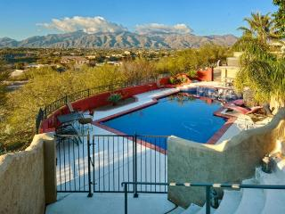 New Listing! Peaceful Tucson Studio w/Wifi, Outdoor Fire Pit, Pool/Hot Tub Access & Dazzling Mountain Views - Wonderful Central Location Near Local Restaurants & The University of Arizona!