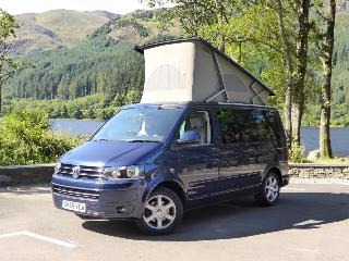 VW California camper hire scotland, Chapelhall