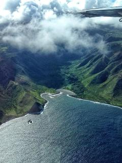 A short plane ride from Maui or Oahu....