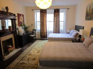 Urban Sanctuary Double Queen with Sleeper sofa, New York City