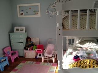 chambre d'enfant avec lit gigogne gigogne