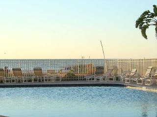 Jun 25-Jul2 $1600 + tax Sea Gate 204, GULF FRONT!, Indian Shores