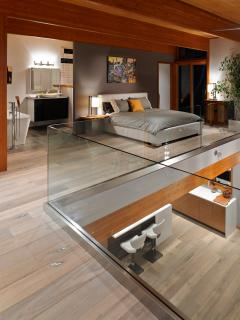 loft bedroom and ensuite
