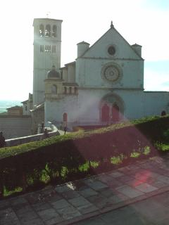 Assisi, the basilica of Saint Francis