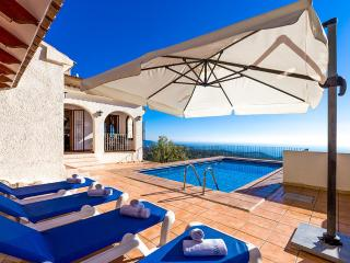 Villa with mountains,views Ben, Benissa