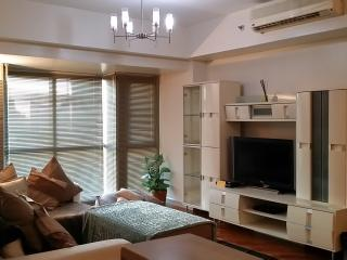 Rockwell 2BR sleep 10 /wifi 50mbps / parking, Makati