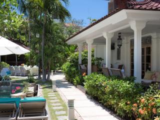 A view of the main house veranda.