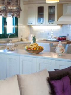 The kitchen provides everything you need for a self-catered holiday!