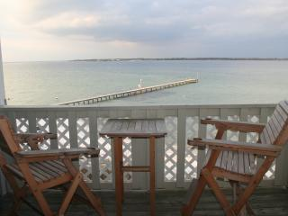 Snowbird discounted monthly rates available.  Condo sits on the Pensacola Bay.
