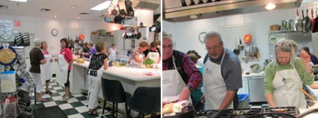 Sign up for Sweet Basil Cooking Class - mingle with locals and have fun!