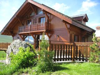 Chalet Namika Luxury ski in - ski out chalet right on the slopes.