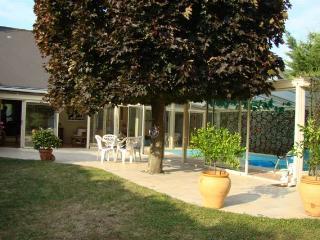 Gite et Spa TOURAINE luxe piscine couverte hammam